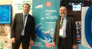 President Thierry Meunier and treasurer Johann Leconte