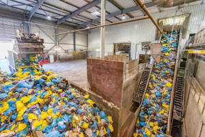 Modernisation of waste sorting facilities