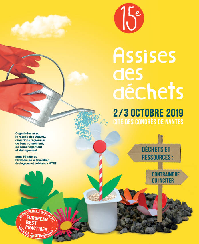 The 15th Assises des Déchets scheduled for 2019